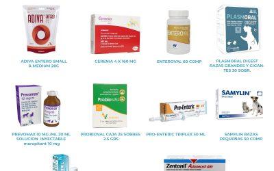 Productos de Digestivo para Veterinarios